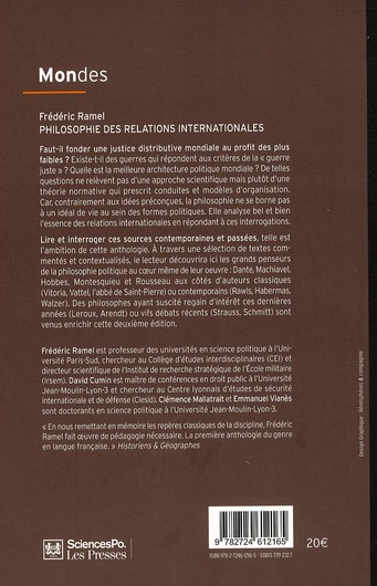 Philosophie des relations internationales (2e édition)