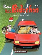 Couverture de Les bidochon t.10 ; usagers de la route