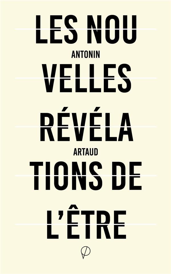 NOUVELLES REVELATIONS DE L'ETRE (LES) - SUIVI DE LETTRES ET DE SORTS (1937)