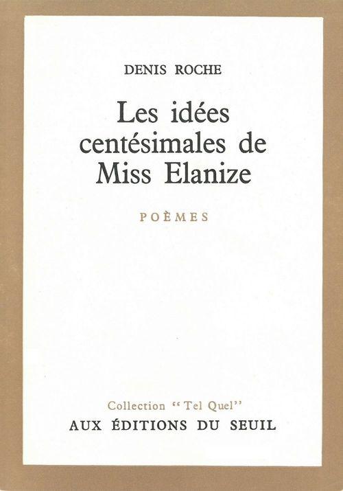 Idees centesimales de miss elanize (les)