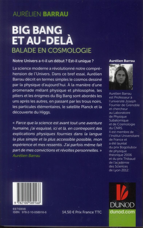 Big Bang et au-delà ; balade en cosmologie