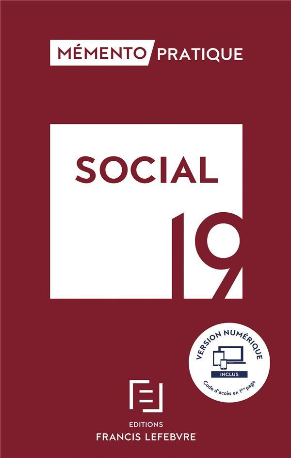 Mémento pratique ; social (édition 2019)