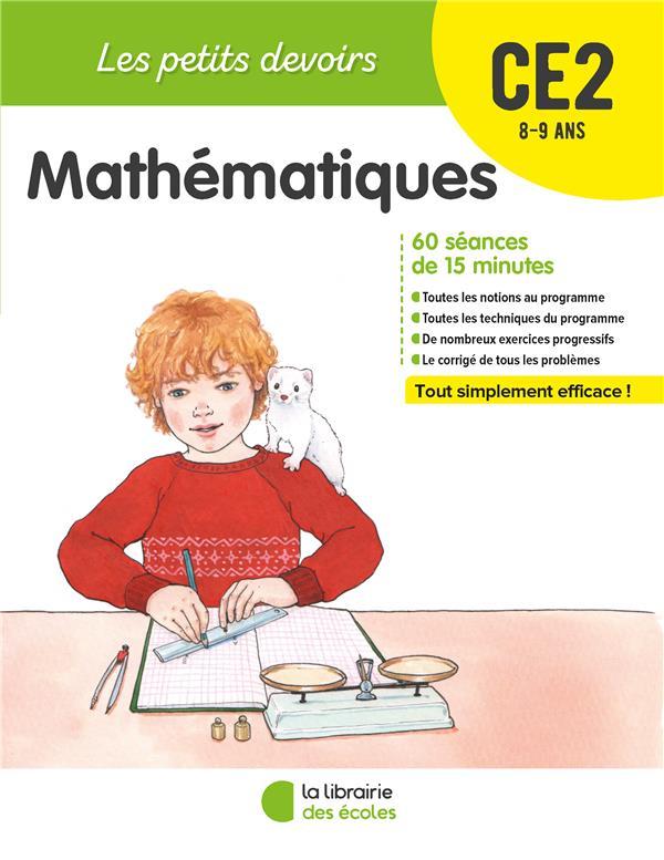 Les petits devoirs ; mathématiques ; CE2 (édition 2019)