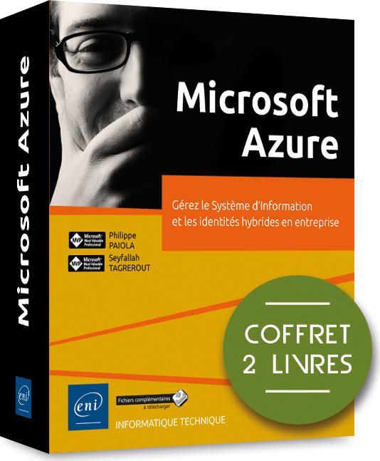 Microsoft Azure ; coffret de 2 livres : gérez le Système d'Information et les identités hybrides en entreprise
