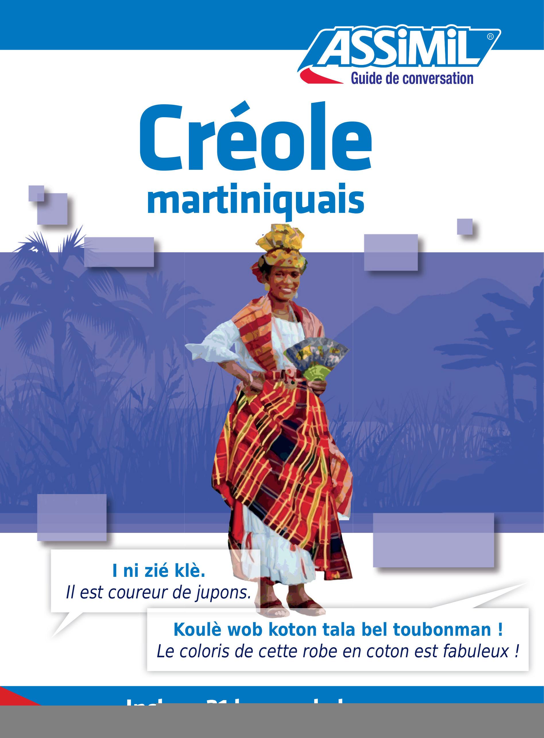 GUIDES DE CONVERSATION ; créole martiniquais