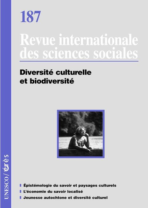 RISS T.187 ; diversité culturelle et biodiversité