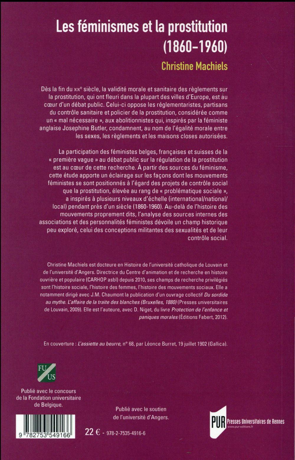 les féminismes et la prostitution (1860-1960)