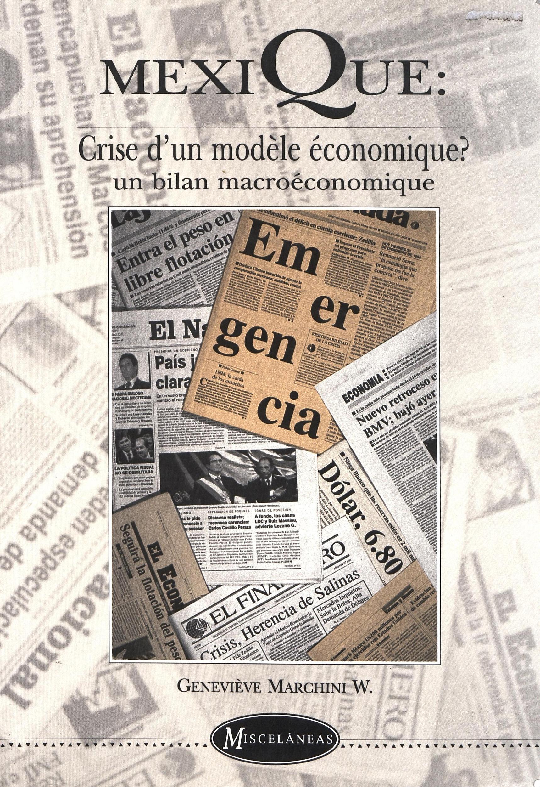 Mexique: crise d'un modèle économique?