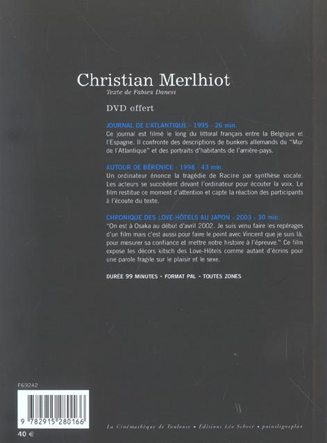 christian merlhiot (+ dvd)