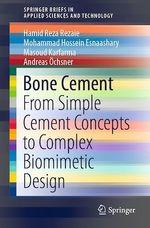 Bone Cement  - Mohammad Hossein Esnaashary - Masoud Karfarma - Andreas Ochsner - Hamid Reza Rezaie