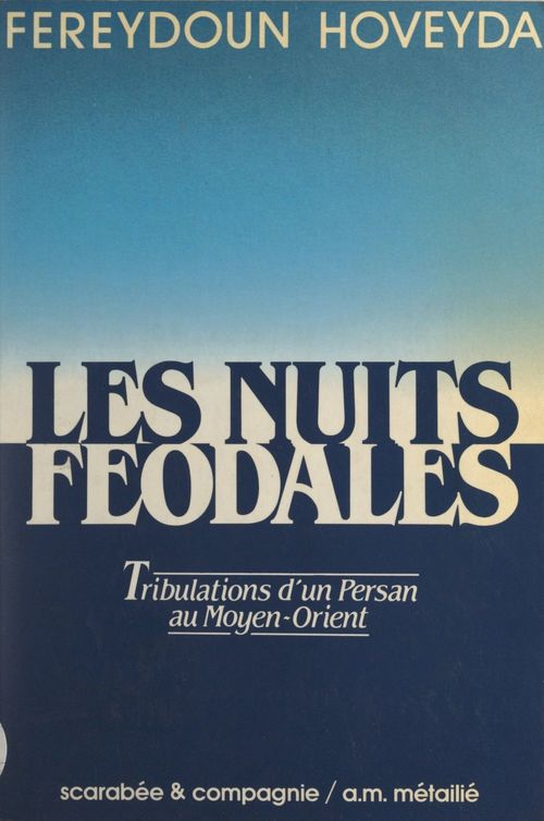 Les nuits féodales