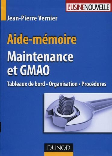 Aide-Memoire Maintenance Et Gmao