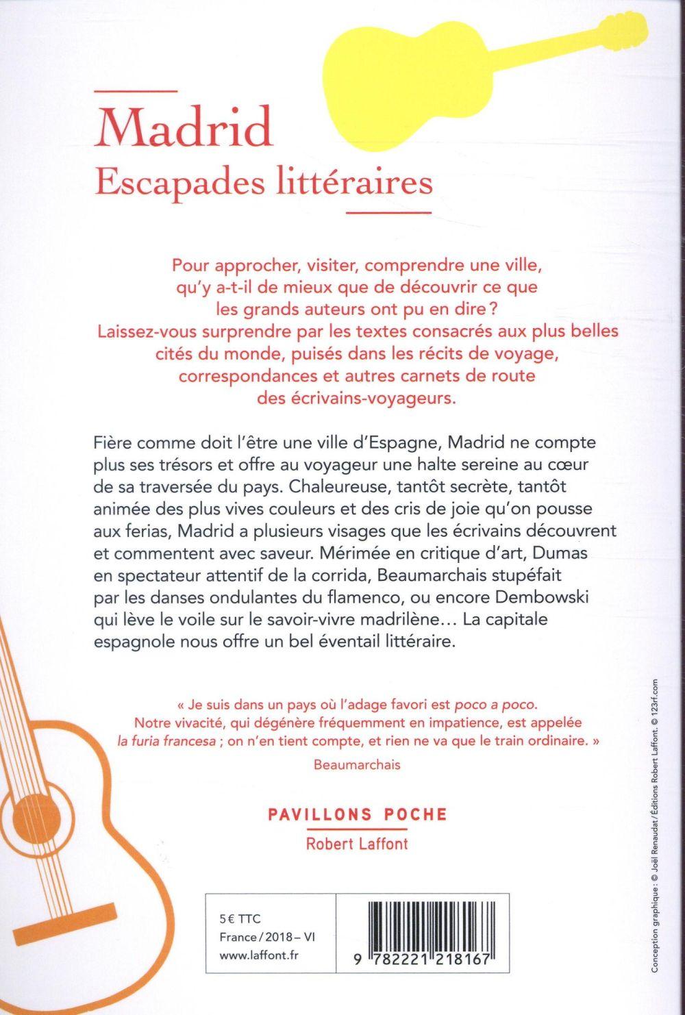 Madrid, escapades littéraires