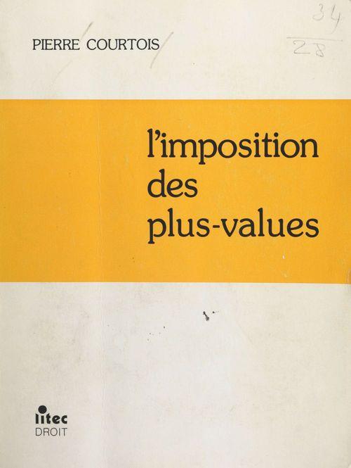 L'Imposition des plus-values
