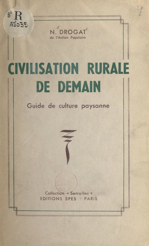 Civilisation rurale de demain