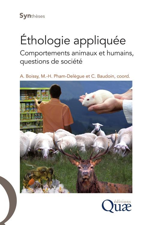éthologie appliquée ; comportements animaux et humains, questions de société