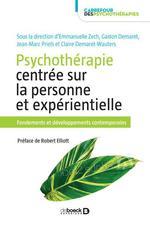 Psychothérapie centrée sur la personne et expérientielle : fondements et développements contemporains