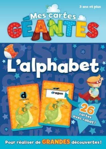 Mes cartes géantes ; l'alphabet