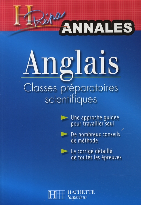 Annales Anglais Classes Preparatoires Scientifiques
