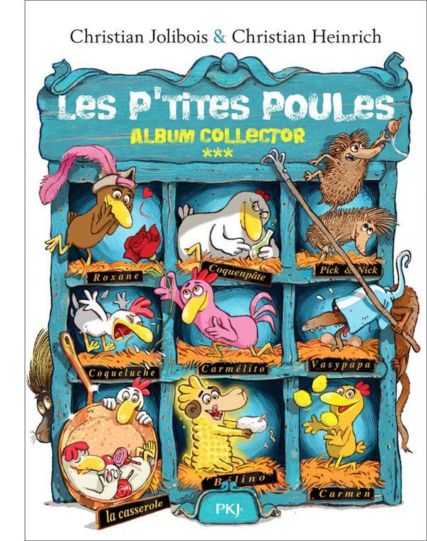Les P'Tites Poules ; Integrale Vol.3 ; T.9 A T.12