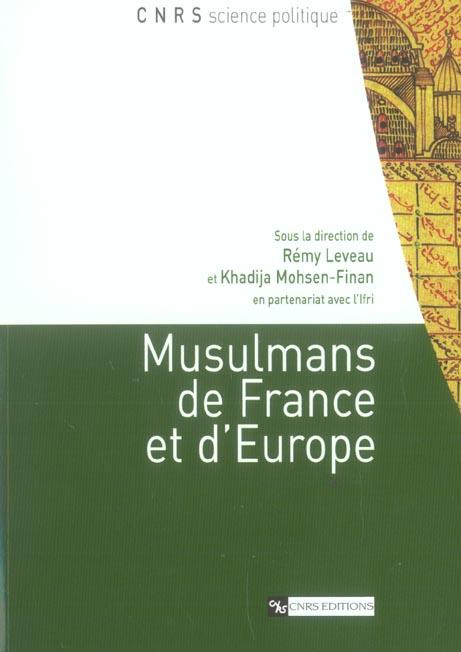 Musulmans de france et d'europe