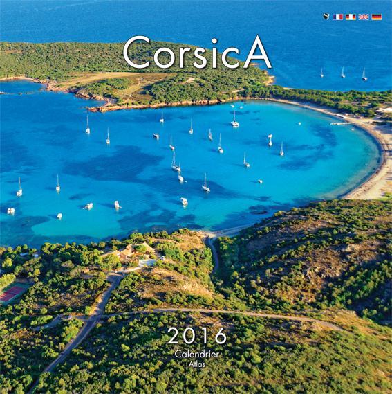 Calendrier atlas Corsica 2016