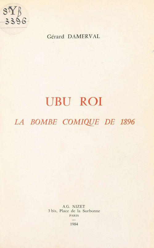 Ubu roi la bombe comique 1896