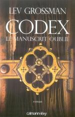 Couverture de Codex, le manuscrit oublié