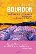 Vente EBooks : Retour en Provence  - Françoise Bourdon