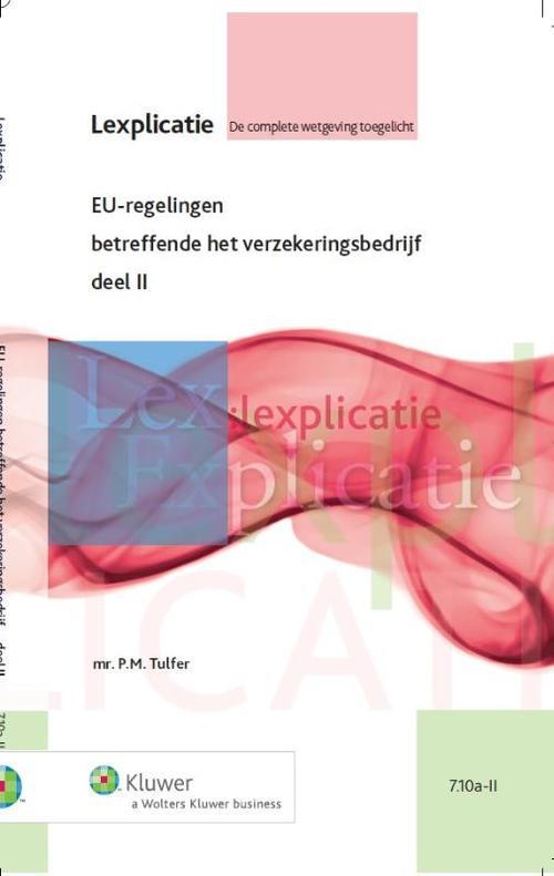 EU-regelingen betreffende het verzekeringsbedrijf - 3