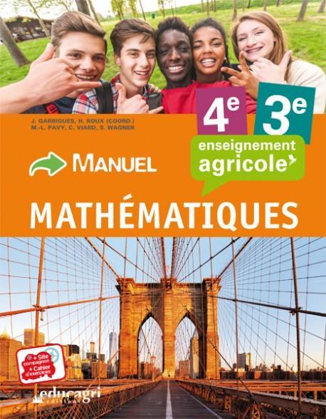 Mathématiques ; 4e et 3e : enseignement agricole ; manuel de l'élève
