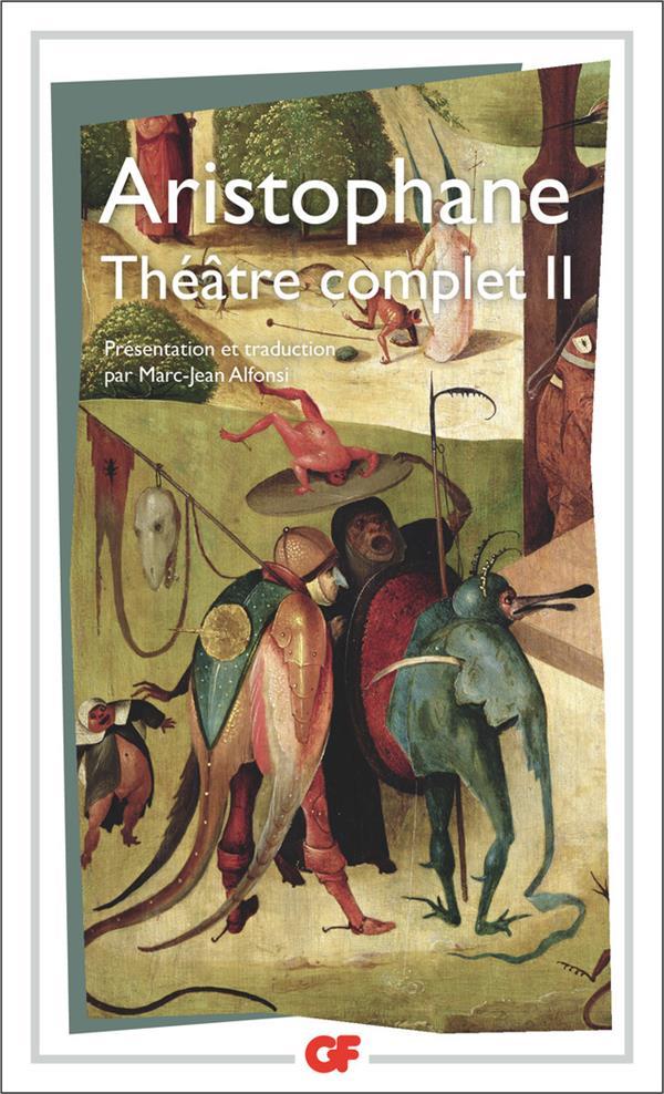 Théâtre complet  t.2