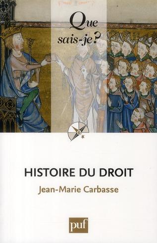 Histoire Du Droit (2e Edition)