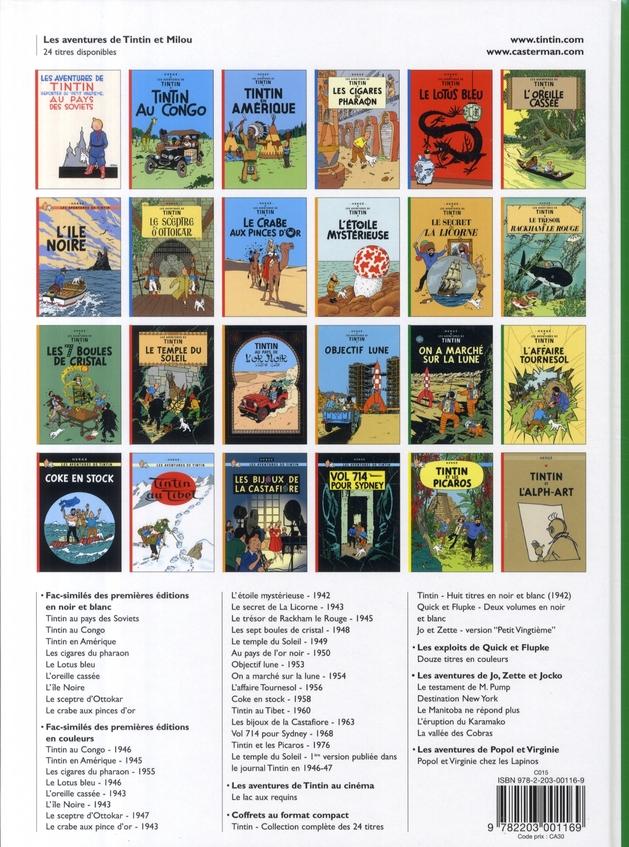 Les aventures de Tintin T.17 ; on a marché sur la lune