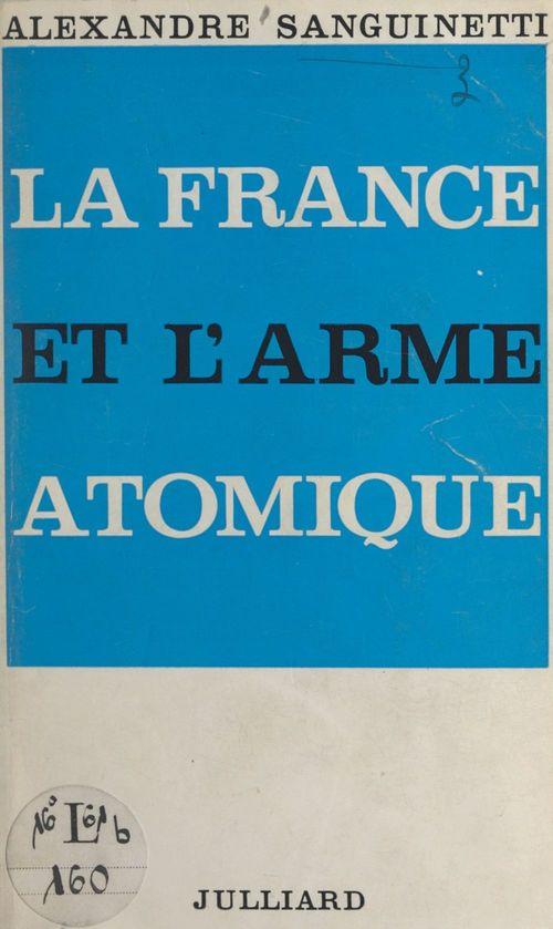 La France et l'arme atomique