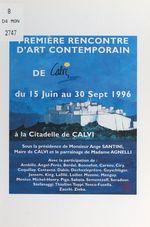 Première Rencontre d'art contemporain de Calvi  - Collectif