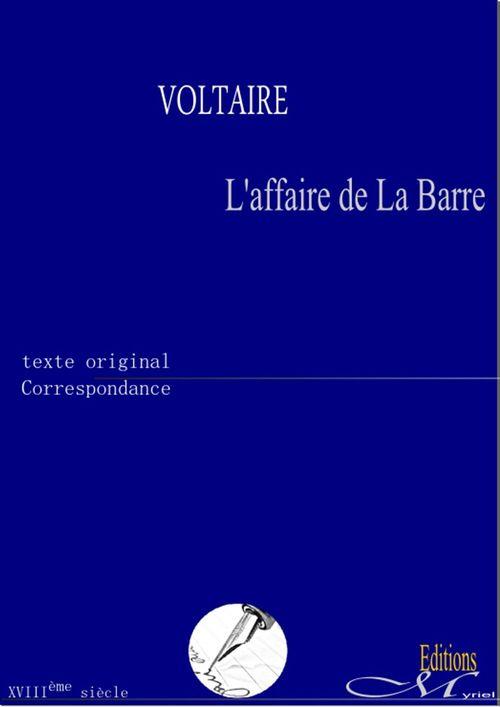 L'affaire de La Barre