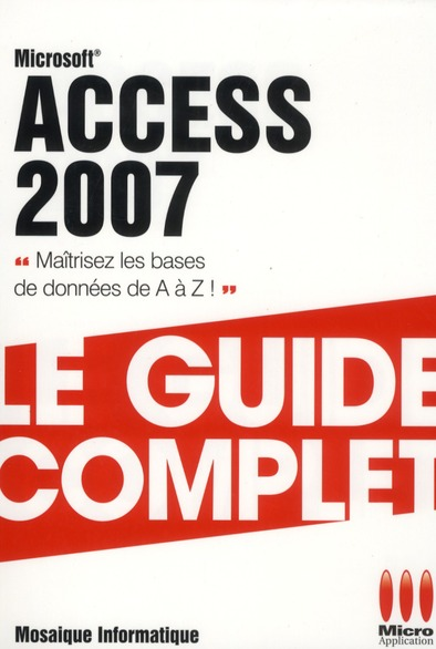 Access 2007 (3e édition)