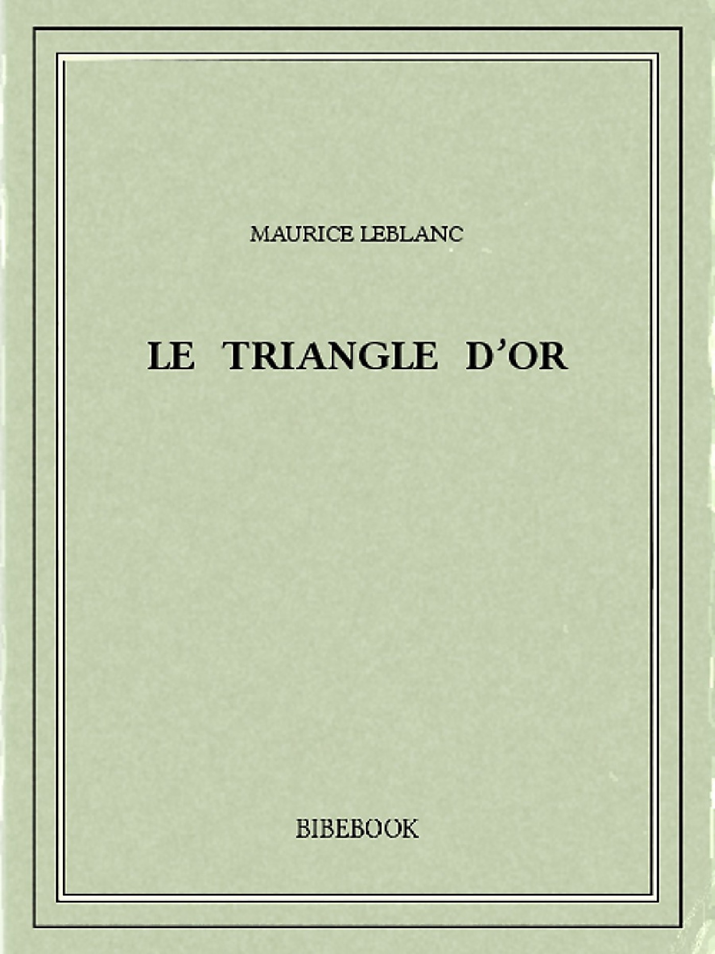 Le triangle d´or