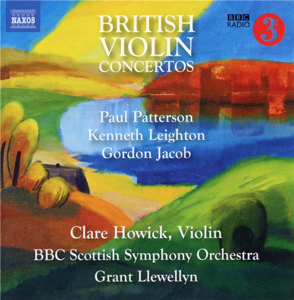 Bristish violin concertos