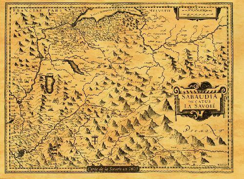 La Savoie en 1605