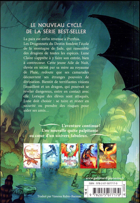 les royaumes de feu t.6 ; la montagne de jade
