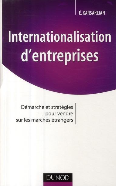 Internationalisation D'Entreprises