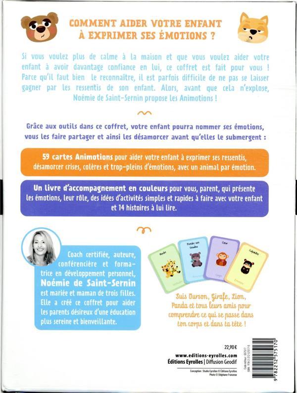 les animotions : 59 cartes pour aider votre enfant à développer son intelligence émotionnelle