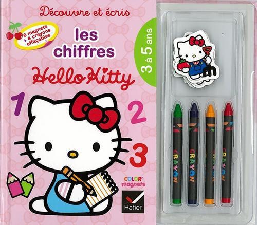 Decouvre Et Ecris Les Chiffres Avec Hello Kitty