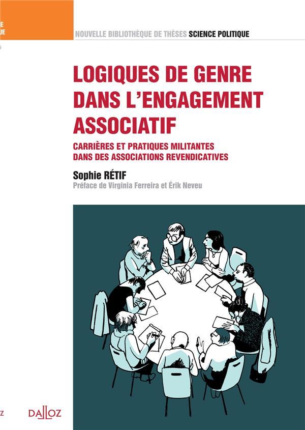 Logiques de genre dans l'engagement associatif ; carrières et pratiques militantes dans des associations revendicatrices