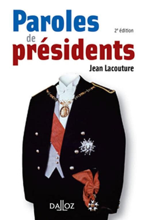 Paroles de Présidents