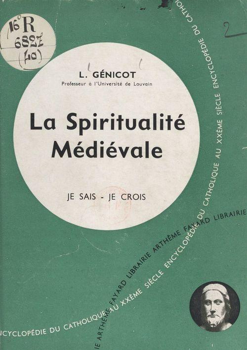 La vie en Dieu, les médiateurs (4)  - Leopold Genicot