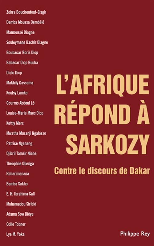 L'Afrique répond à Sarkozy