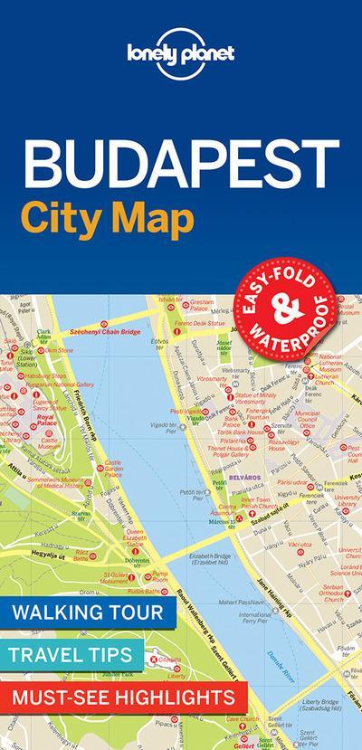 City map ; Budapest (édition 2017)